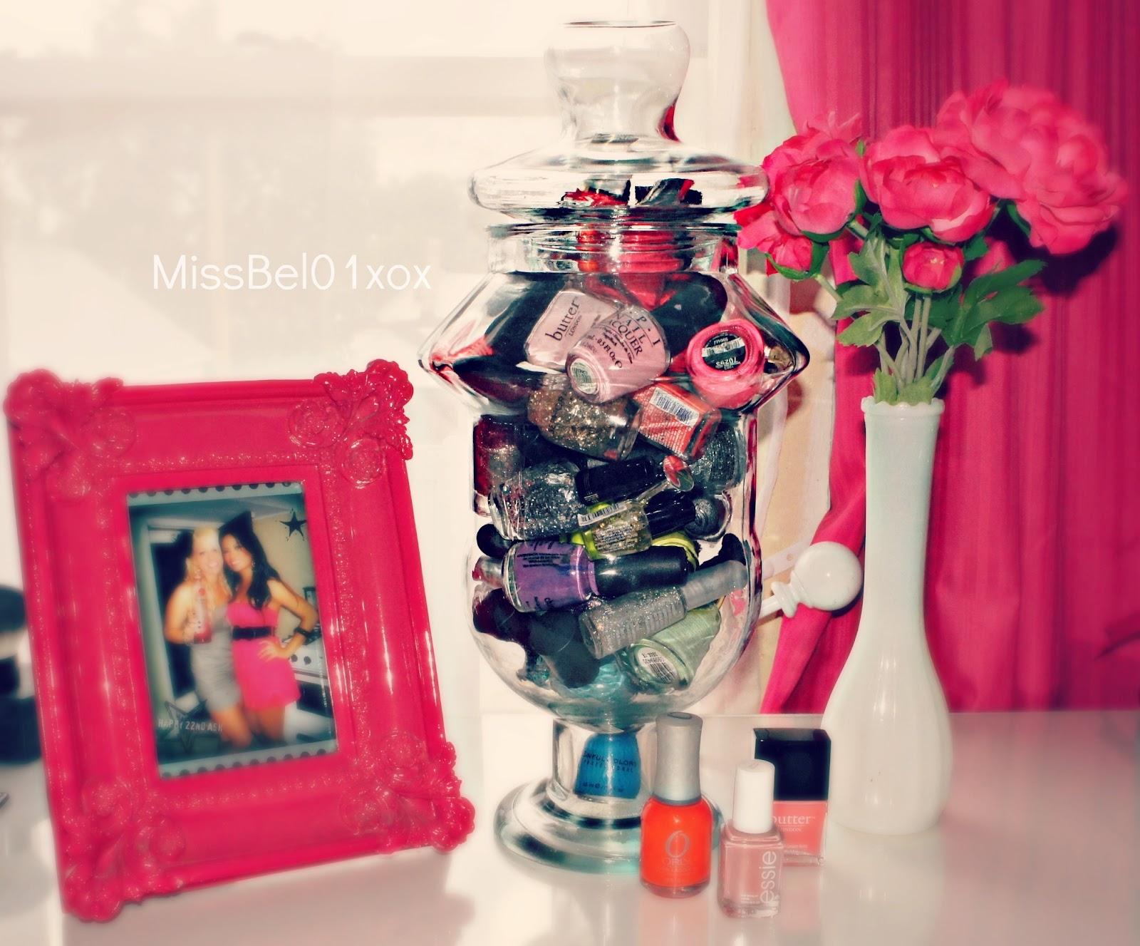 BelindaSelene Nail Polish Storage Display
