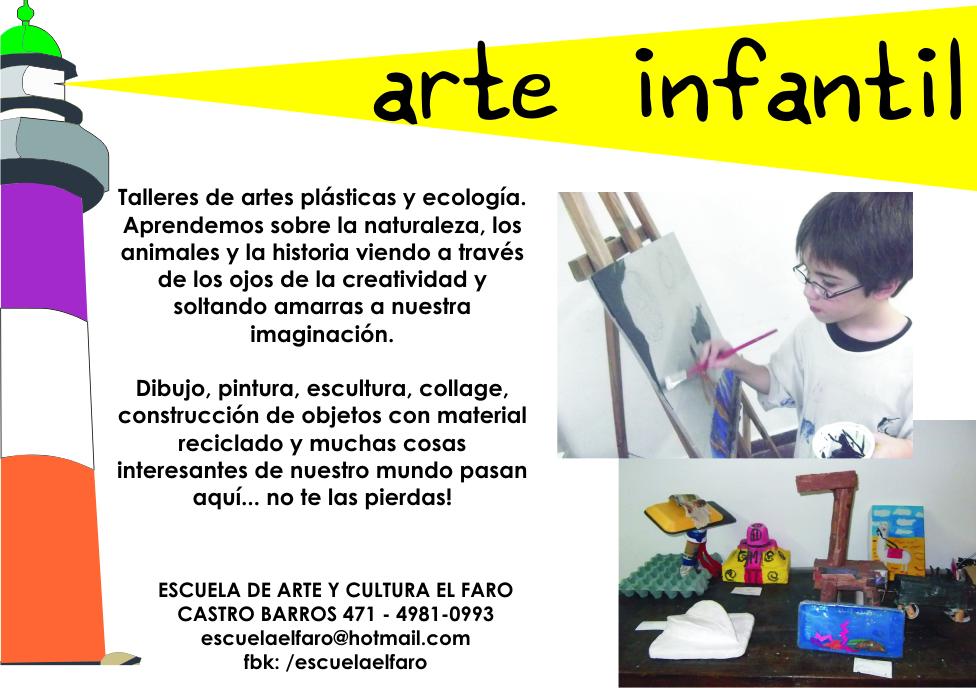 Escuela De Arte Y Cultura El Faro Arte Infantil Desde Los
