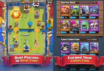 game Clash Royale android