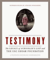 Cover of Testimony: The Legacy of Schindler's List and the USC Shoah Foundation