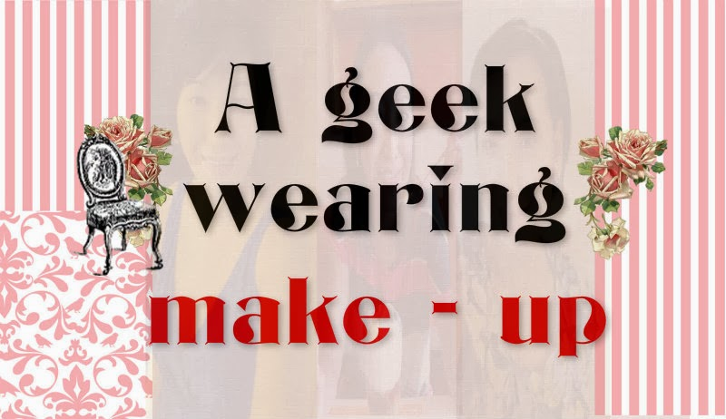 A Geek Wearing Make-up