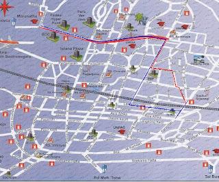 The Amazing Paris Van Java: Bandung Tourism Map