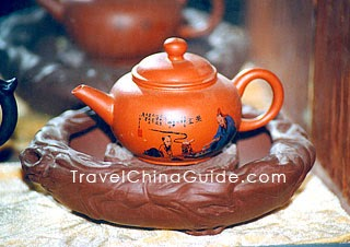 Purple Clay Teapot