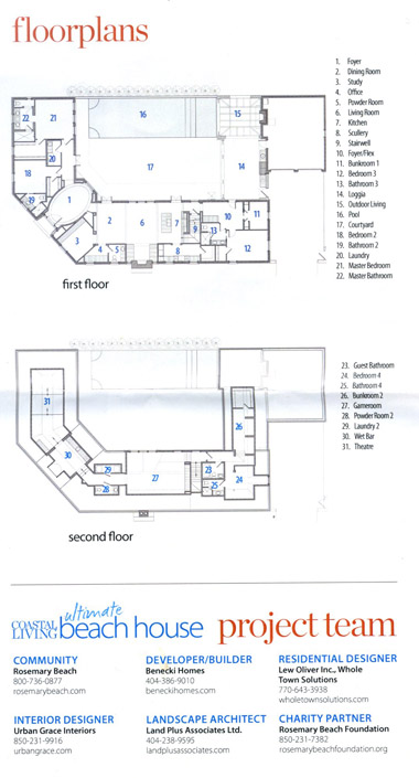 laurenfaythe coastal living beach house coastal living floor plans home design