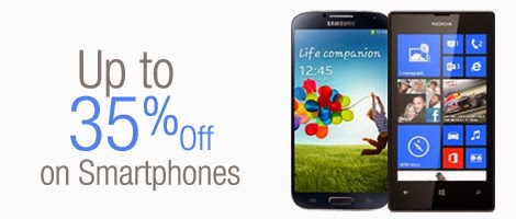 35% off on Popular Smartphones