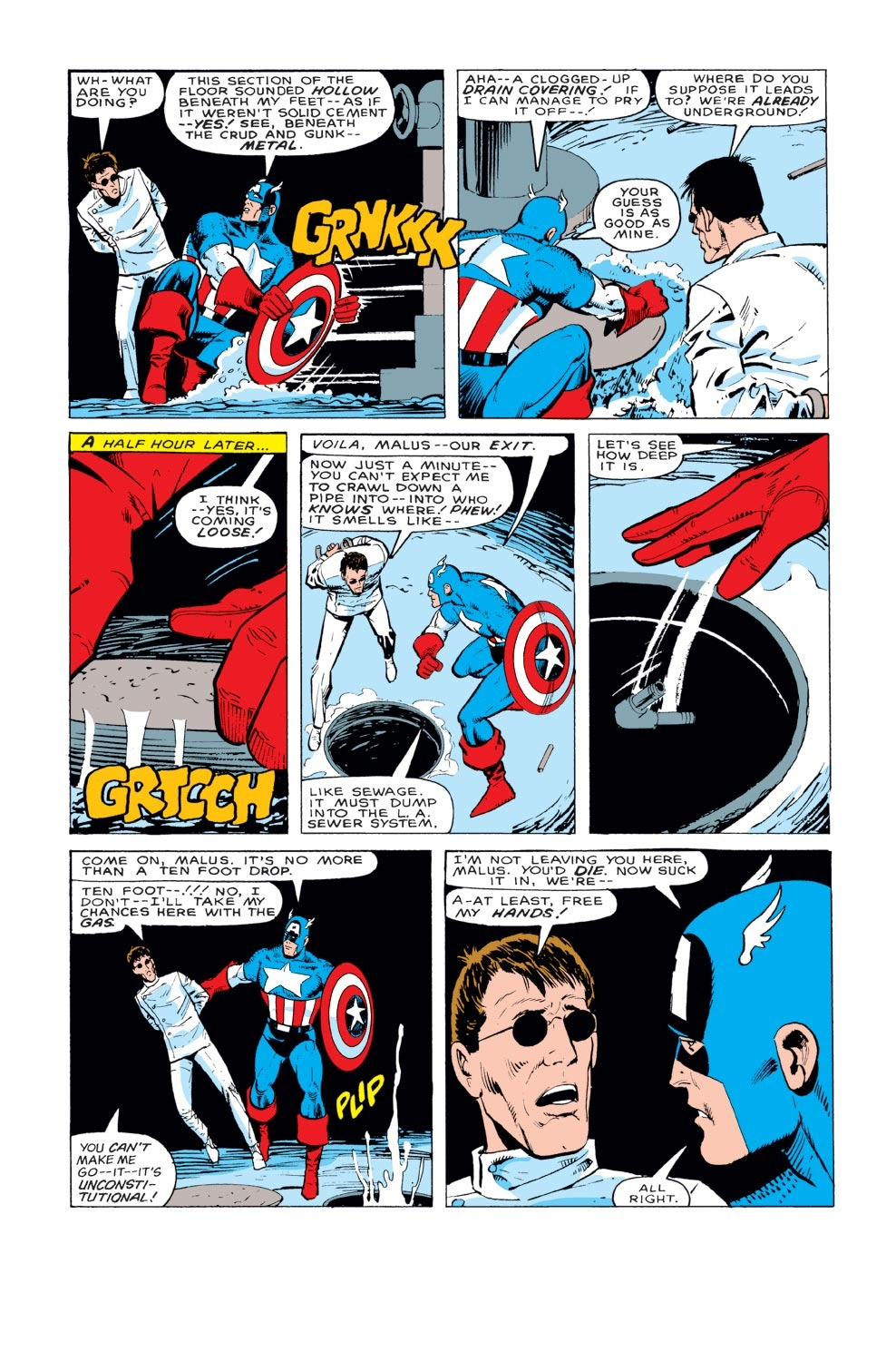 Captain America (1968) Issue #329 #258 - English 19