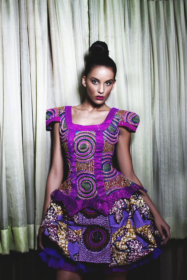 fashionable african print fashion dresses