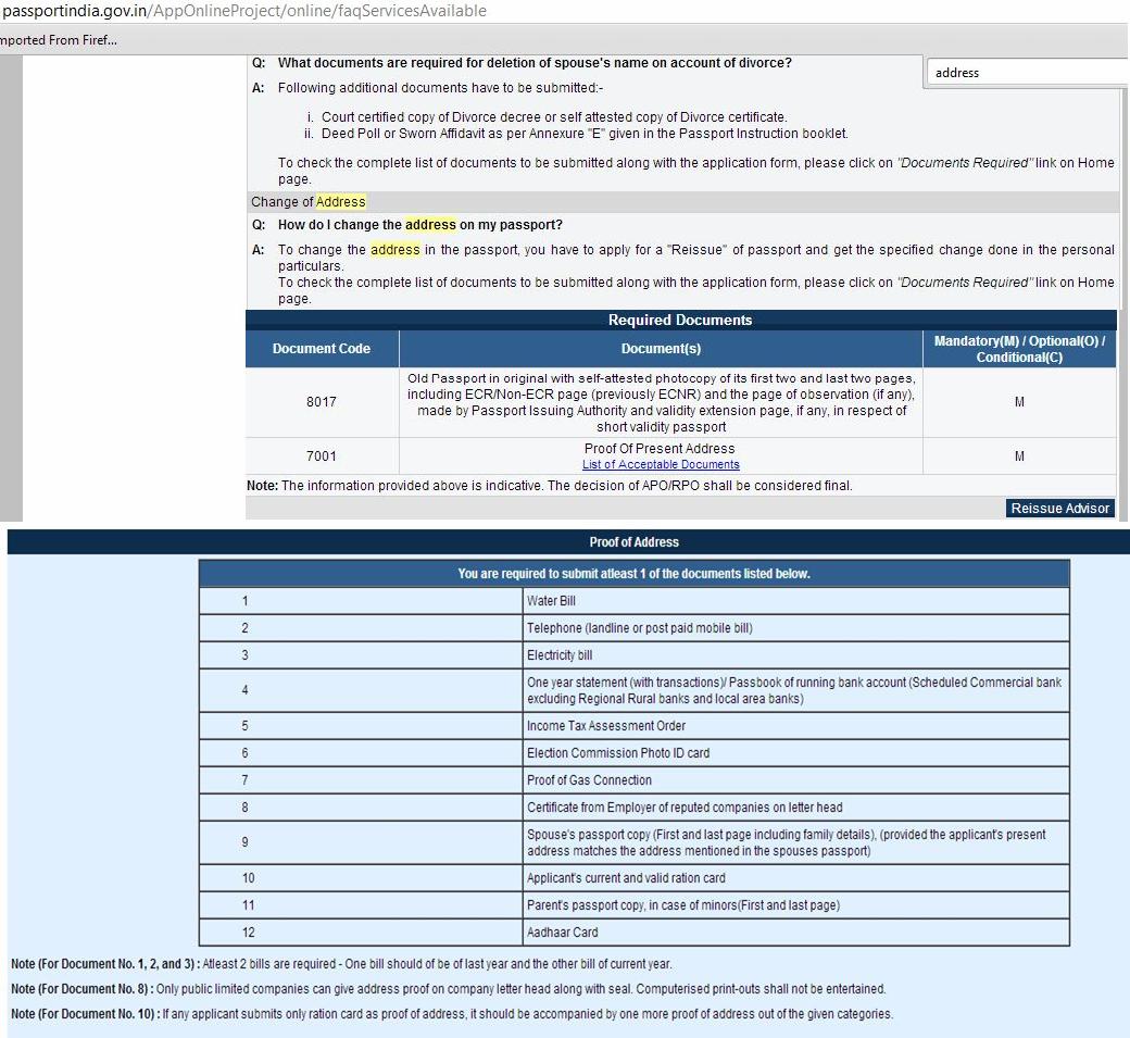 Krishna kumar g how to change address in existing indian passport procedure to change address image falaconquin