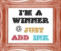 "I""m a Winner at Just Add Ink"