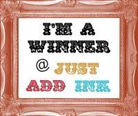"I""m a Winner at Just Add Ink"