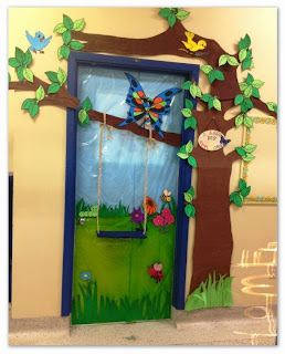 Proyectos educativos y m s ideas para decorar puertas for Puertas decoradas educacion infantil