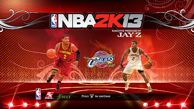 NBA 2K13 Kyrie Irving Startup Screen Cover Mod