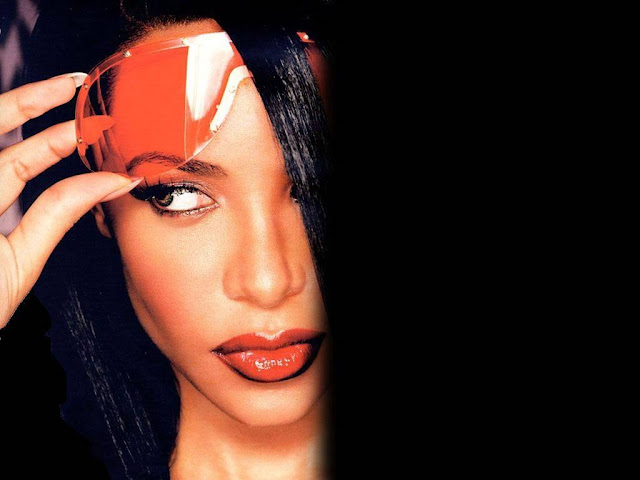American singer Aaliyah Sexy Wallpaper