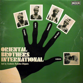Oriental Brothers Internationalled by Godwin Kabaka Okpara,Afrodisia / Decca  1975