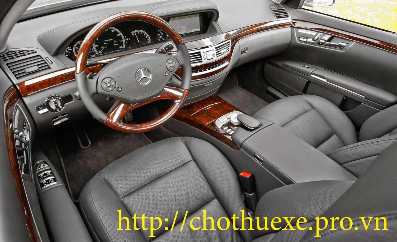 Cho thuê xe Mercedes S550 đưa đón sân bay Nội Bài