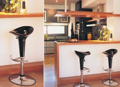 Mi rinc n de sue os barras y taburetes en la cocina for Sillas barra cocina