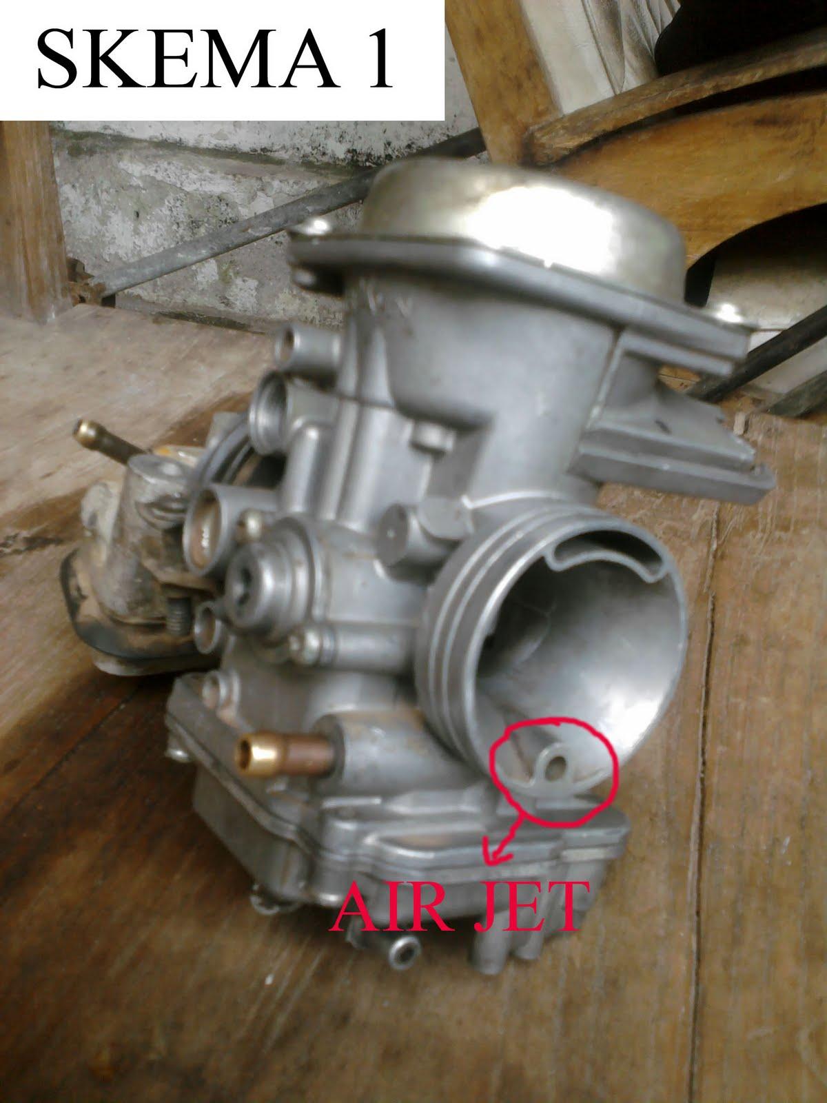 karburator vakum cv tidak sereponsif karburator konvesional masalahnya