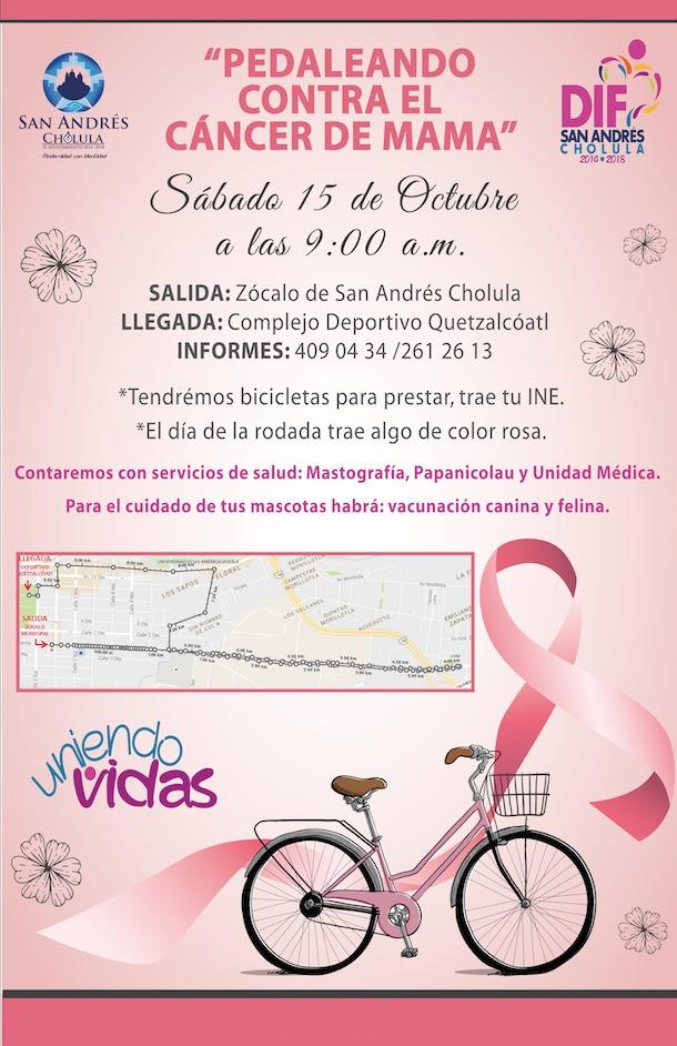 San Andrés Cholula contra el cáncer de mama