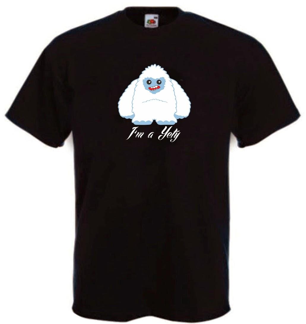 maglietta yeti