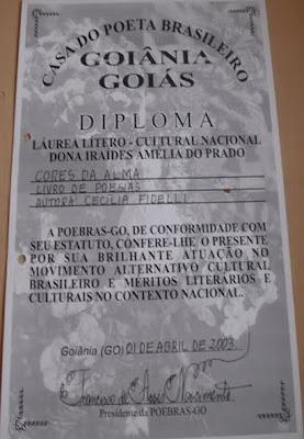 PREMIO - 2003-LIVRO: CORES DA ALMA