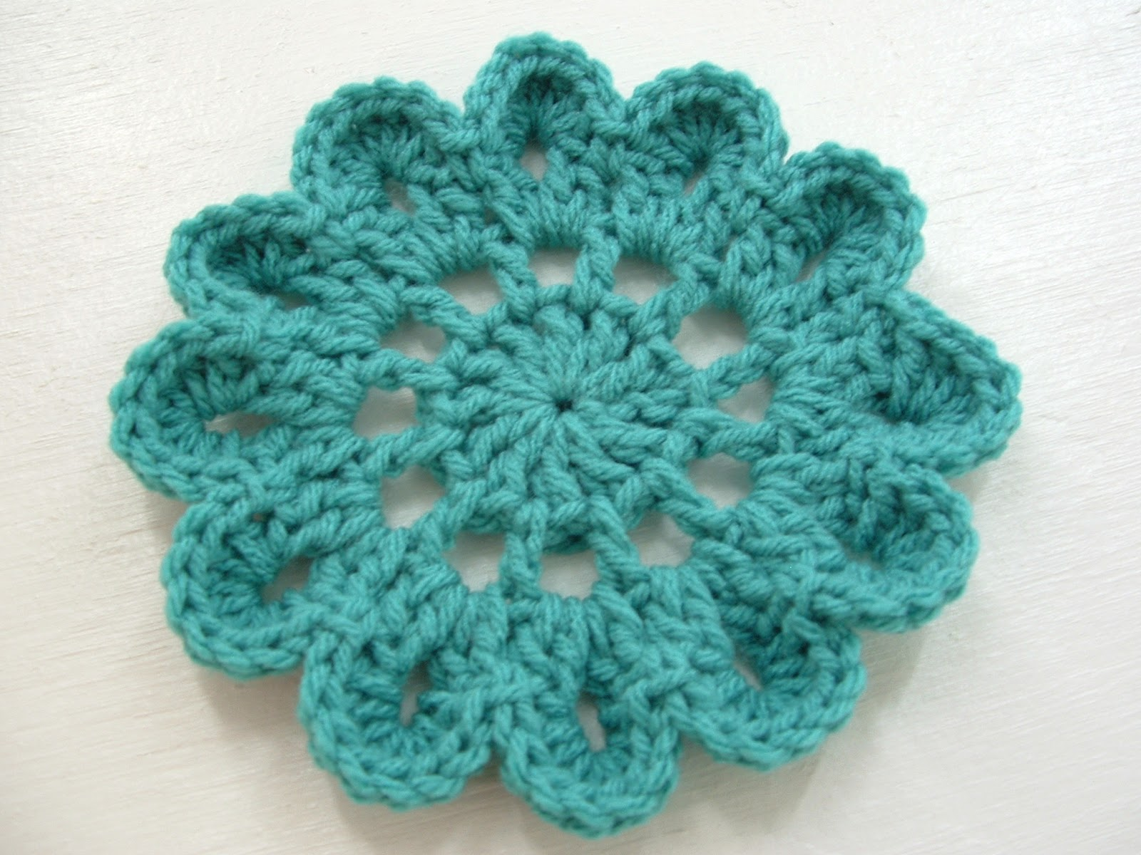 Free Crochet Pattern Japanese Flower : Would You Like Yarn With That?: Japanese Flower Motif ...