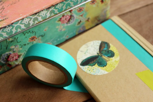 washi tape craft kraft diy hermanas bolena