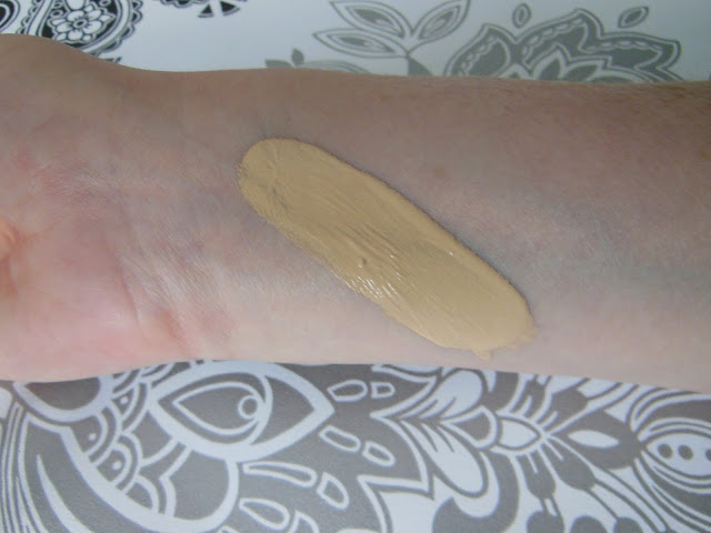 DHC Q10 foundation swatch
