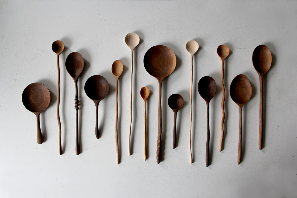 how to carve a spoon out of wood 2