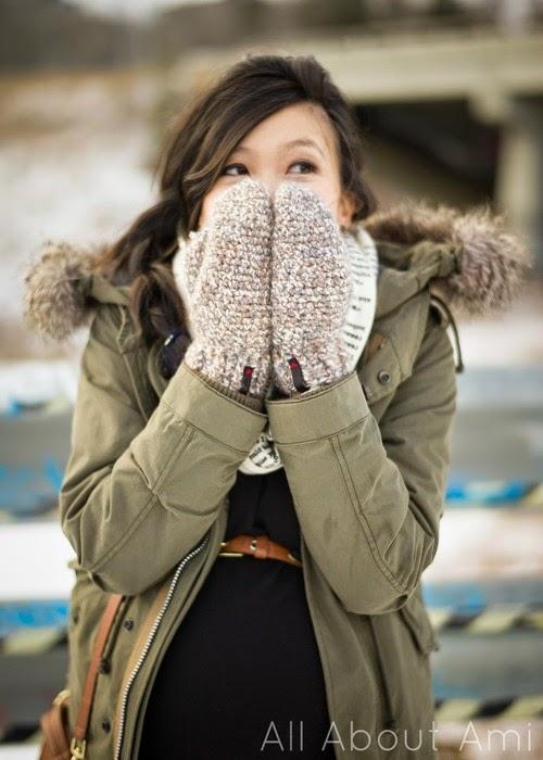 free crochet pattern mittens