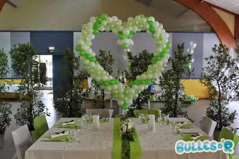 Déco mariage vert et blanc ~ Invitation mariage - Carte mariage ...