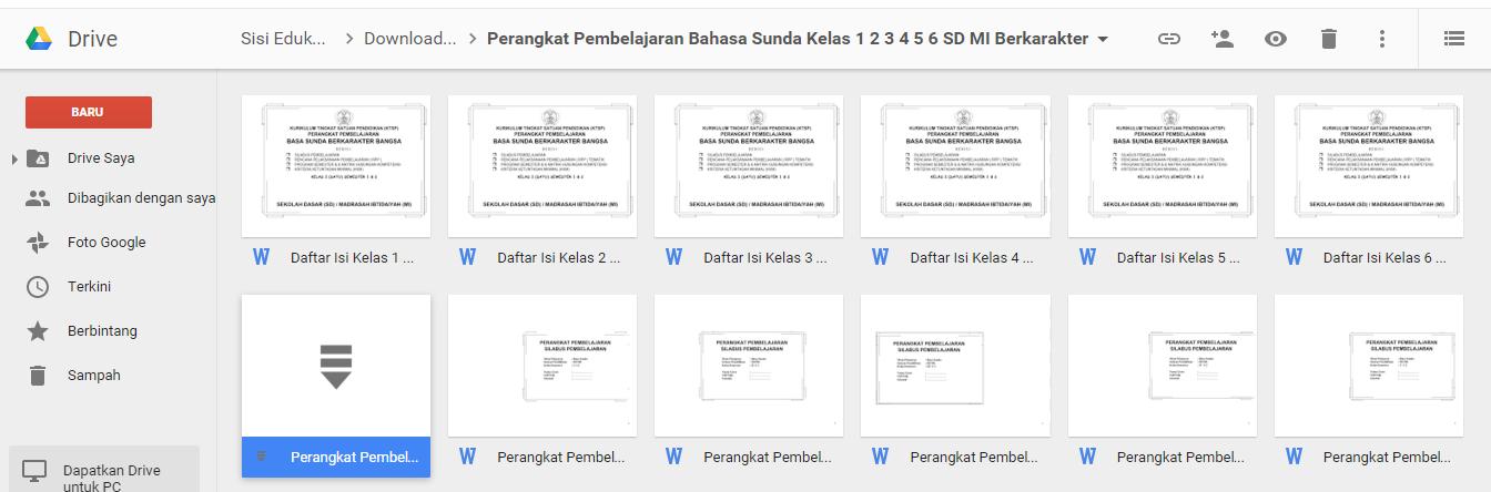 Download Perangkat Pembelajaran Bahasa Sunda Sd Mi Kelas 1 2 3 4 5 Dan 6 Berkarakter Blog Wiki