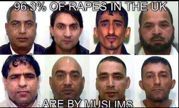 Muslim Scum Rapists