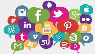 Grande quantidade de redes sociais para anunciantes