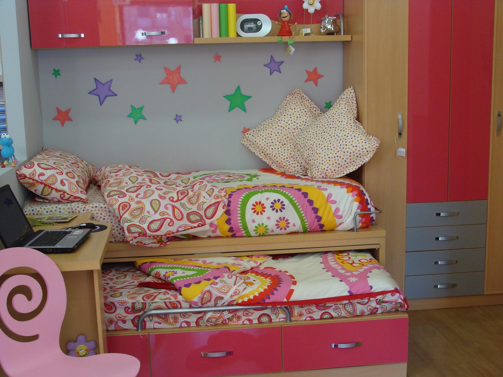Muebles juveniles dormitorios infantiles y habitaciones for Muebles habitacion infantil nina