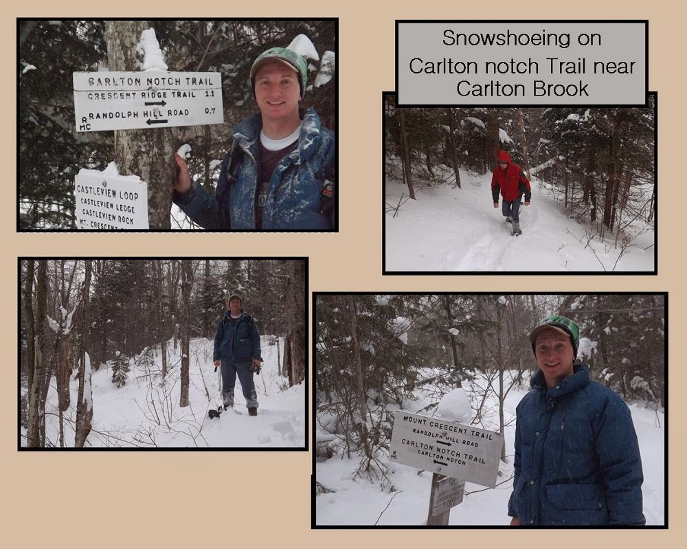 February 18, 2014 Snow Shoeing