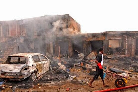 PRESIDENT GOODLUCK JONATHAN CONDENM BOMB BLAST: