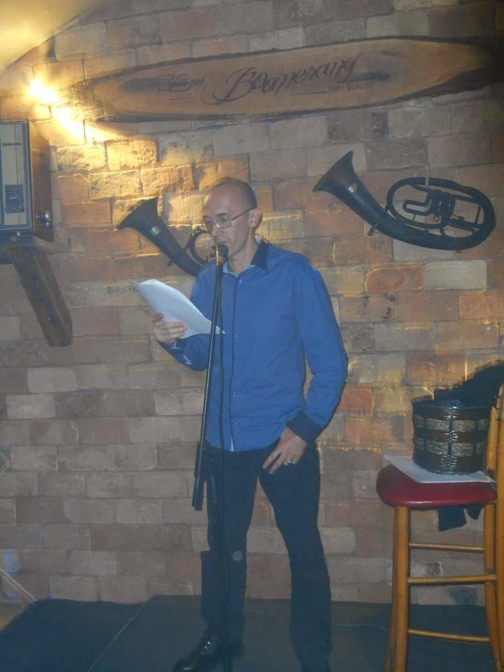 Čitanje poezije na Poetariumu, februar 2014.