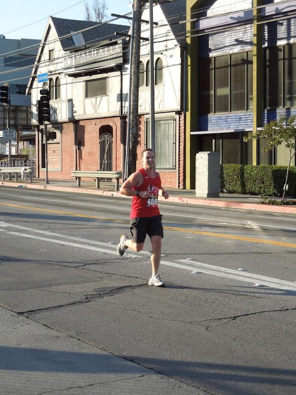 Running Hollywood Half Marathon