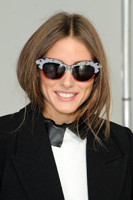 Olivia Palermo on her Cat Eye Sunglass