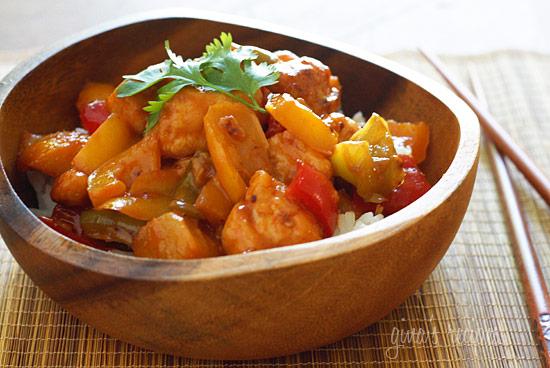 Nola Girl: Tasty Tuesdays: Thai Chicken and Pineapple Stir Fry