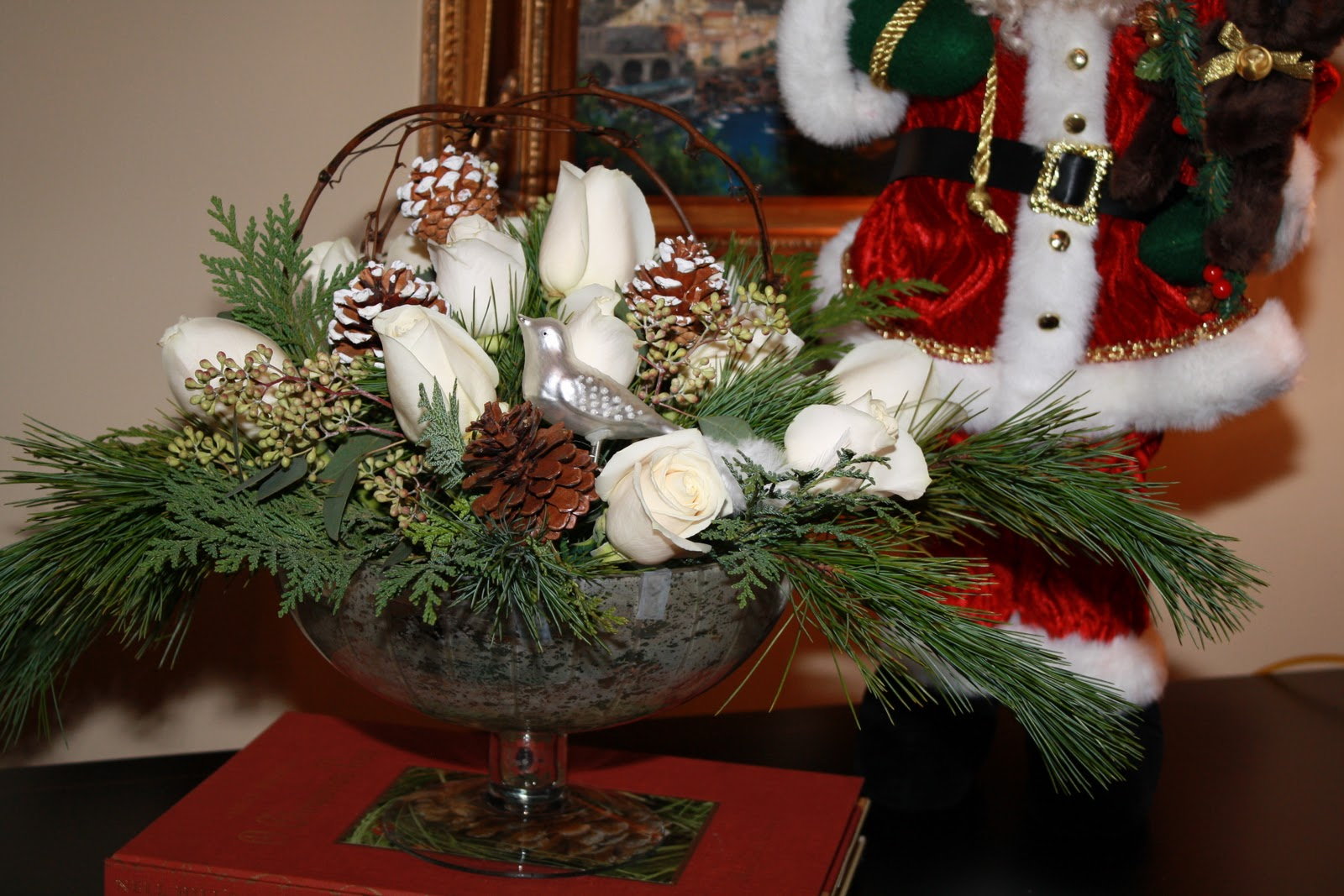 Beaux R 39 Eves Christmas Floral Arrangements