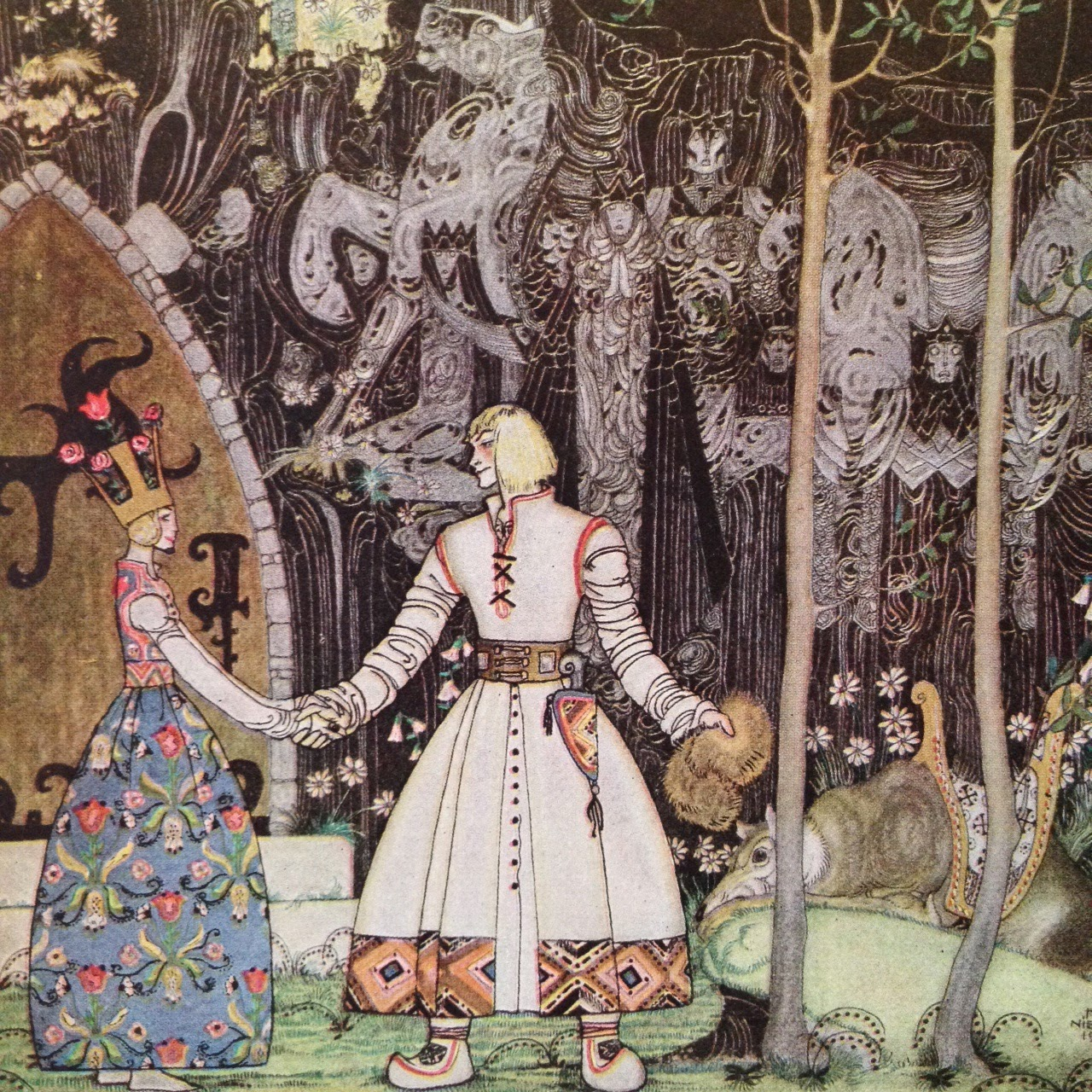 kay nielsen fairy tale art