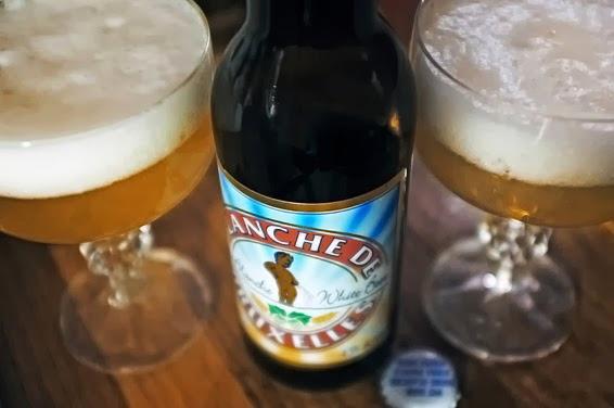 Бельгийское пшеничное пиво Blanche de Bruxelles