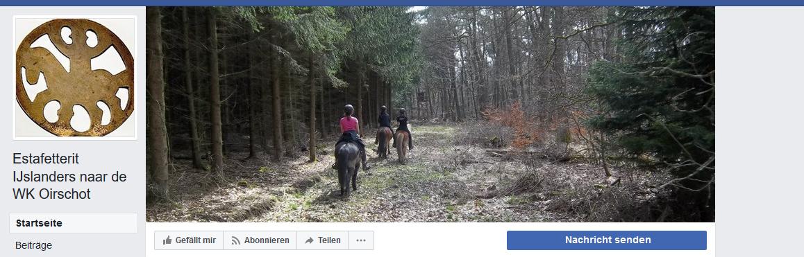Anmeldung Stafettenritt Holland