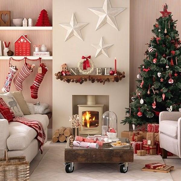 Decoraci n de salas navide as en fotos - Decoracion de fotos ...