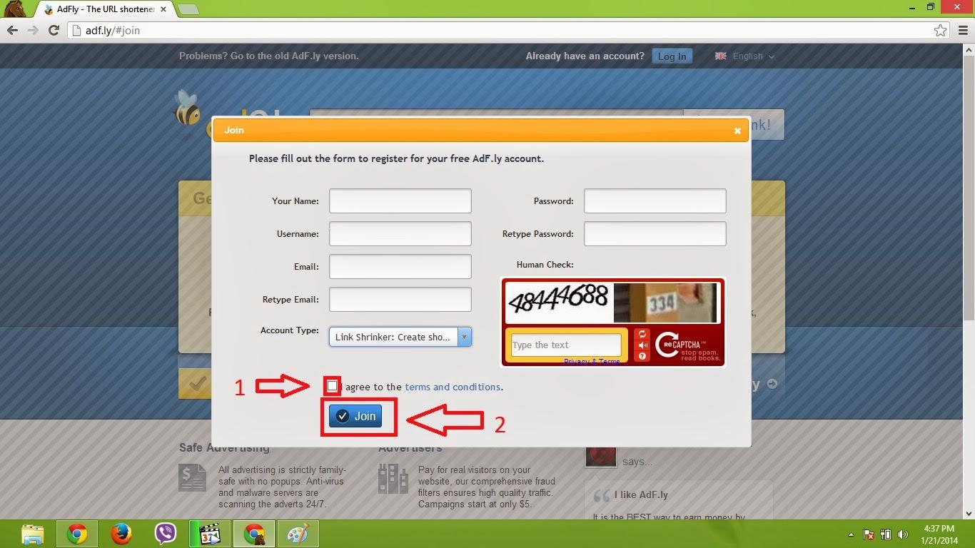 Adfly Register