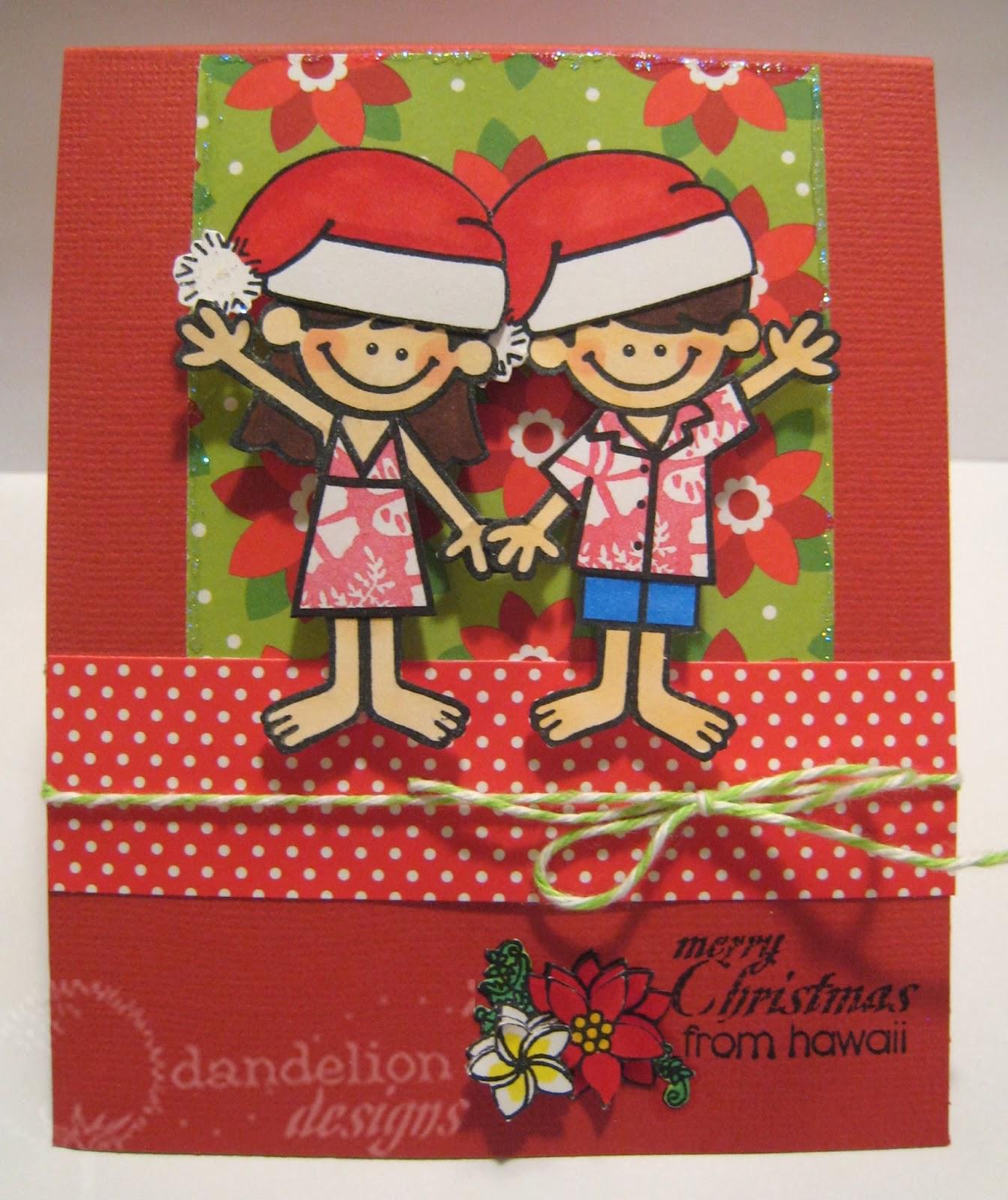 Dandelion Designs Merry Christmas From Hawaii