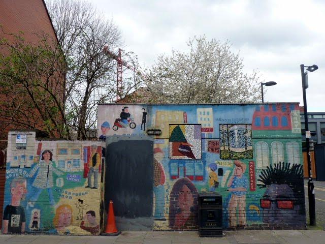 El Graffiti más antiguo de la ciudad de Manchester (descolorido)