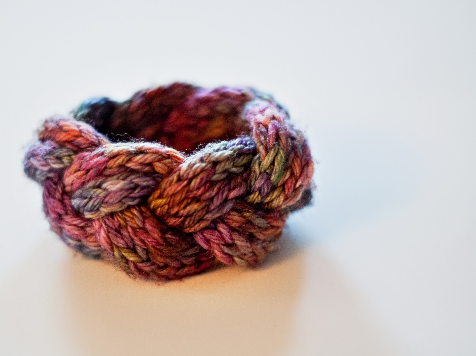 crochet cami knitted bracelet s knot