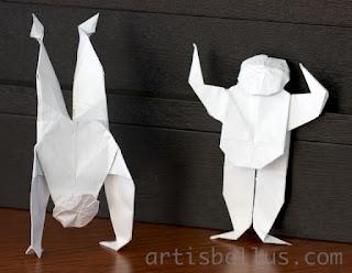 Origami Gymnasts
